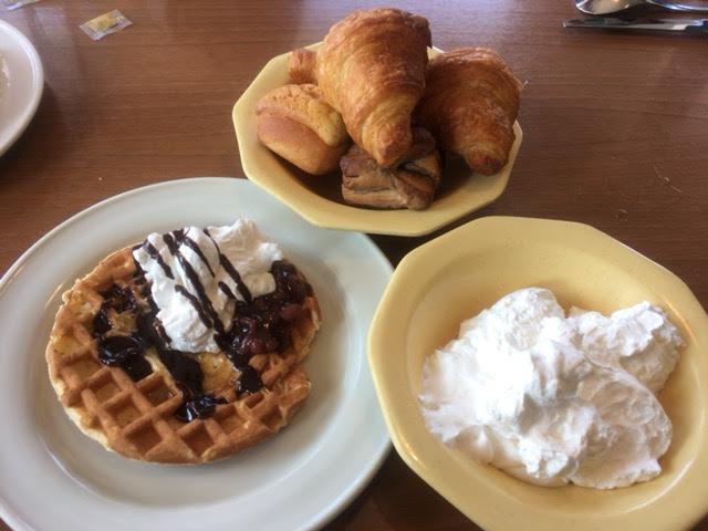 ココスの朝食バイキングデザート