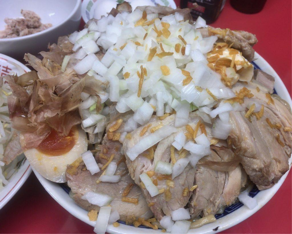 びんびん豚の汁なし麺700gアップ