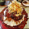 【デカ盛り】豚丼きみお 狭山市 キング盛り 2500円 ~炭火焼きチャーシュー、バラ肉の二重奏【約2k】