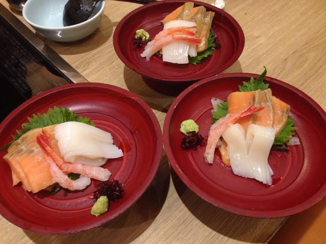 いろどり和菜 三○三 の食べ放題の刺身
