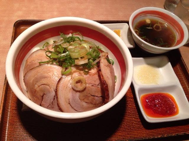 麺道場のチャーシュー丼