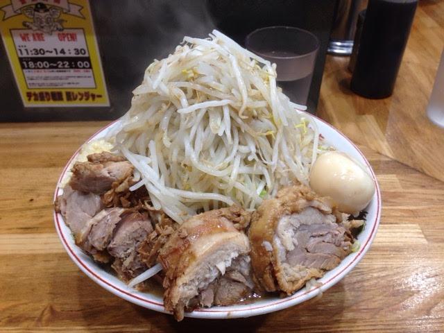 豚レンジャーのラーメン大麺500g