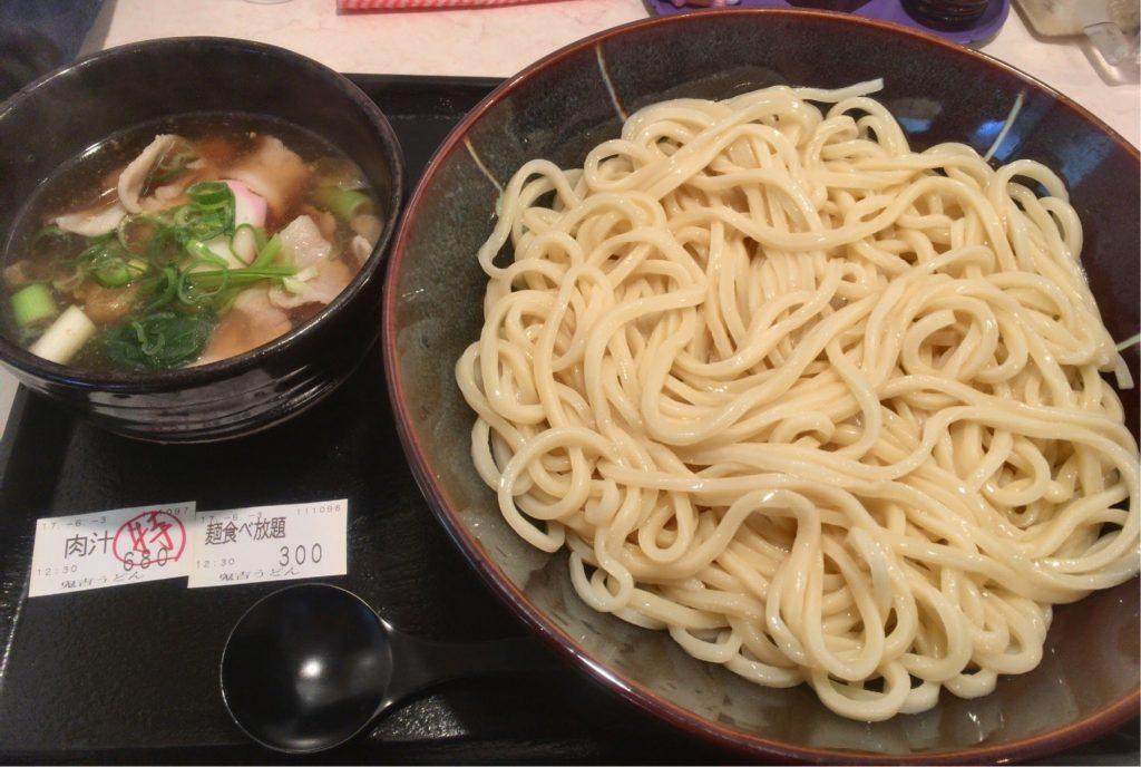 鬼吉の麺食べ放題