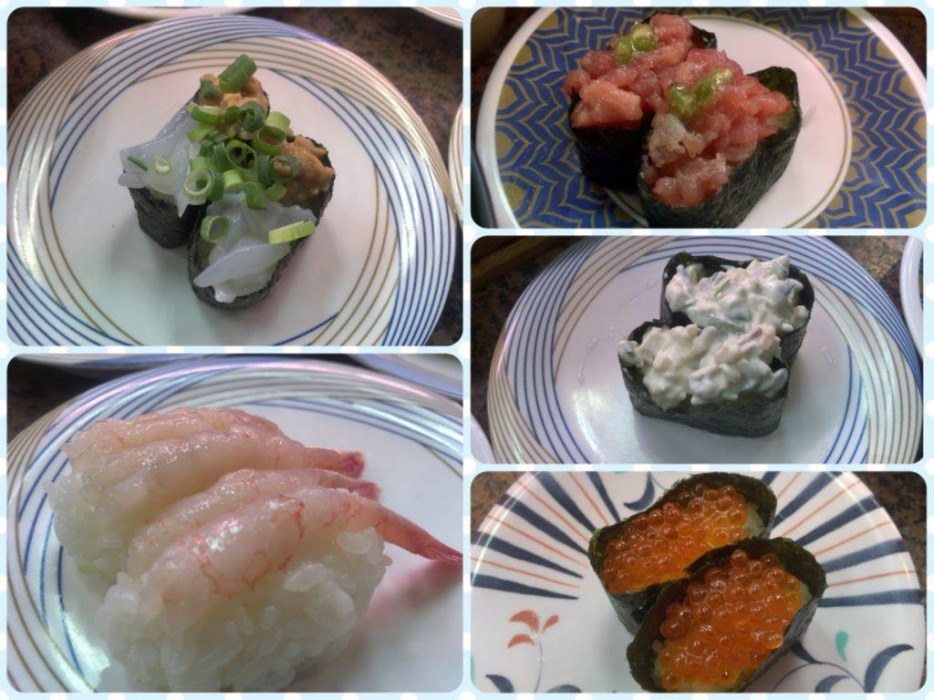 うおまるの寿司ネタ
