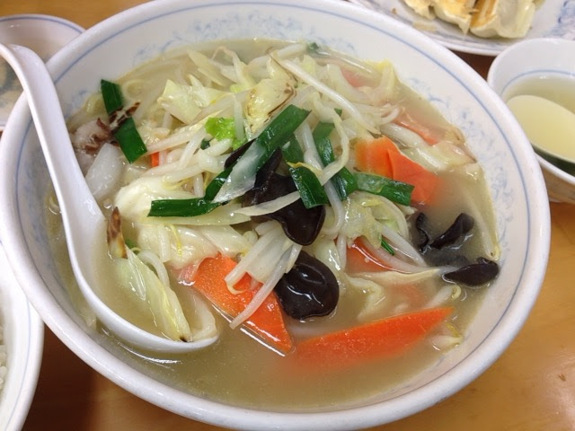 満州の八宝菜麺