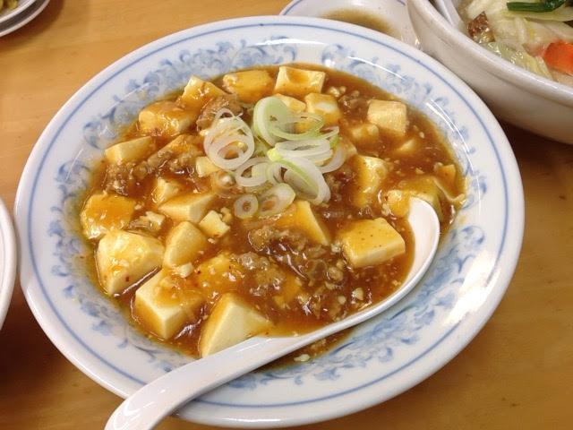 満州のマーボー豆腐