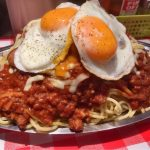 【デカ盛り】スパゲッティーのパンチョ 星人盛り(約2.5k)の顔を見てきたよ!【全部のせ+α】大宮店