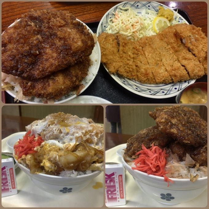 アライの料理比較