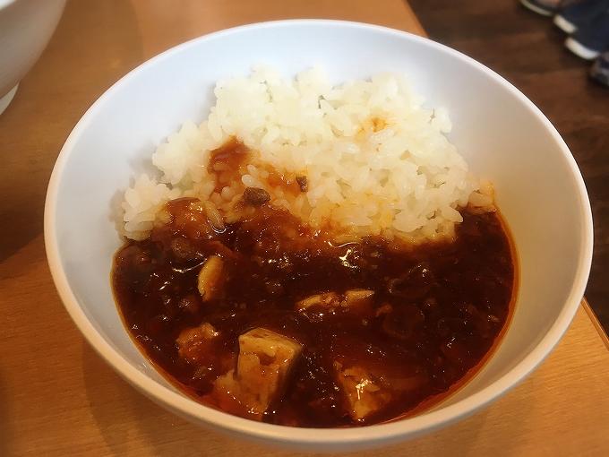 札幌ラーメン大地、麻婆豆腐