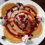 【モーニングあり】カフェ マチルダ 朝から夜まで楽しめるがコンセプトのパンケーキ専門店☆パンケーキ2種 【雰囲気◎】