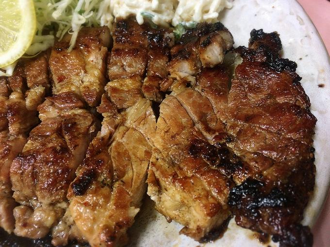 ロース焼肉定食