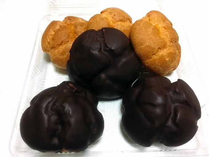 ヨネザワ、シュークリーム&チョコシュー