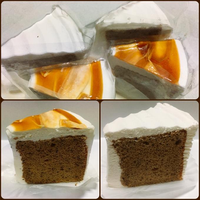 エーキドーパン工場直売所、シフォンケーキ(紅茶)、紅茶のケーキ