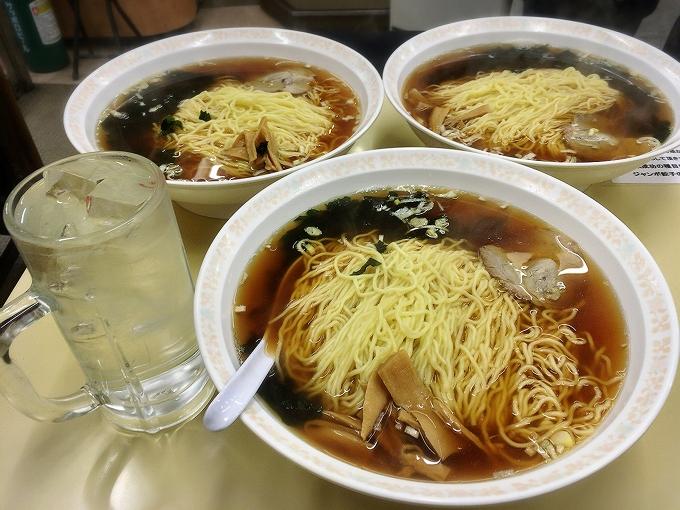 神楽坂飯店、チャレンジラーメン3杯