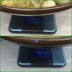 魔人豚、重量、測量、軽量