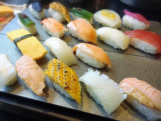 ゆず庵 ランチ寿司、しゃぶしゃぶ、逸品料理食べ放題1980円