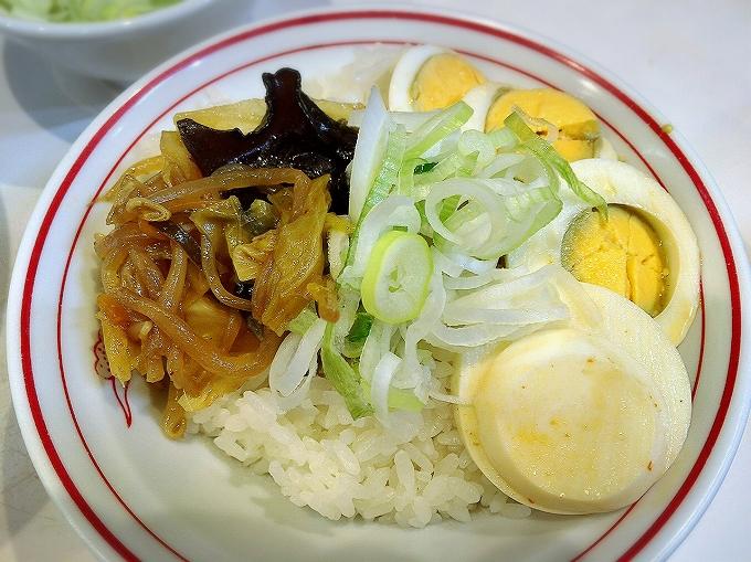 蒙古タンメン 中本 味噌タンメン スライス玉子