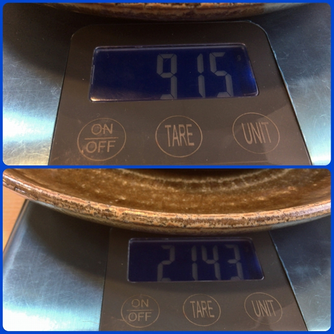竹寿司 重量、測量、軽量
