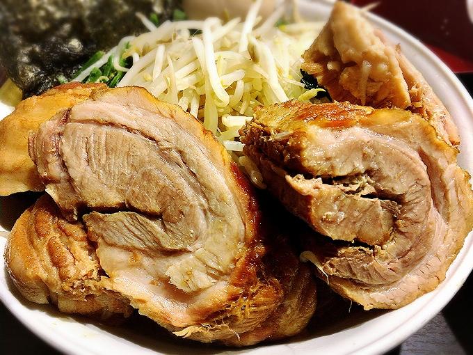 【デカ盛り】ちばから 渋谷道玄坂店 味玉ラーメン豚増し