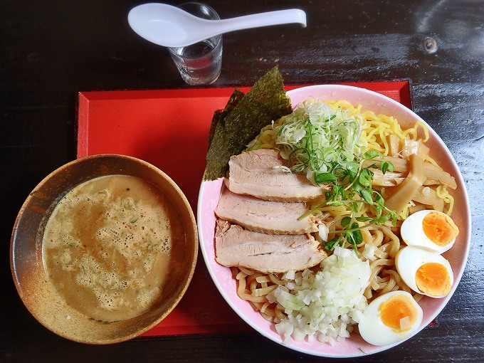 【デカ盛り】にぼ兄弟 加須市 つけ麺 零であいもり1000g☆ステーキも提供する万能店