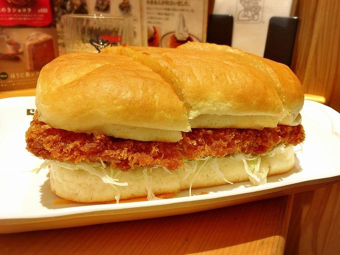 【デカ盛り】コメダ珈琲 みそカツパンがボリューム満点でびっくり☆エビカツパンなどのフードメニューが侮れない!