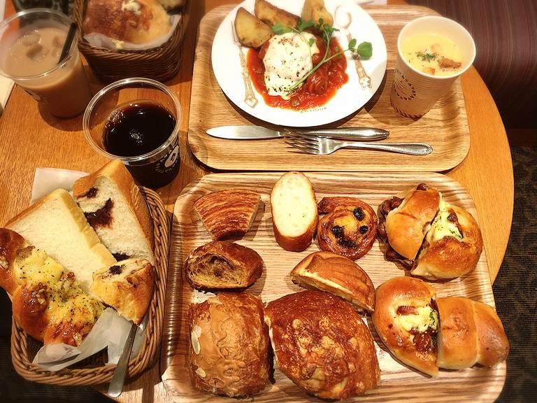【食べ放題】アンティーク 鶴ヶ島市 モーニング500円ランチは980円でパン食べ放題☆惣菜パン豊富な神コスパ
