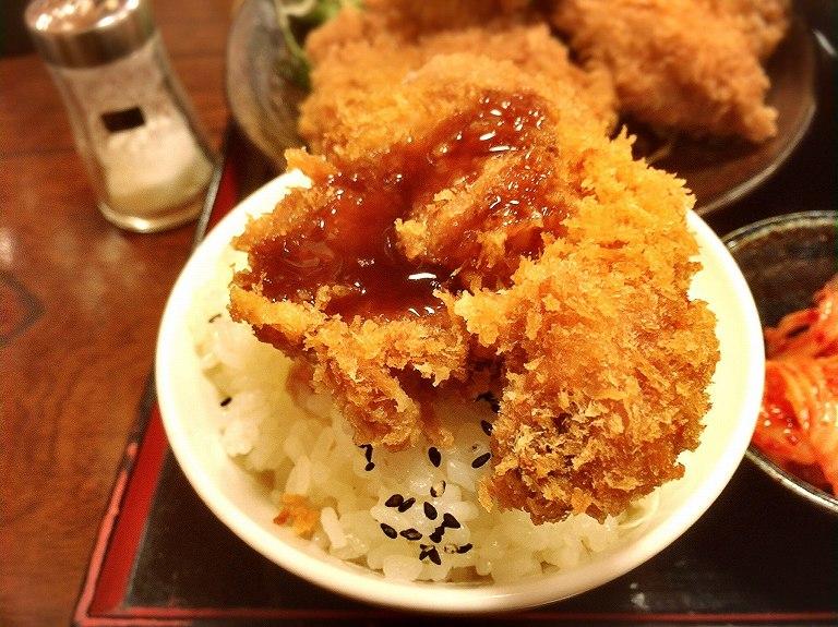 【デカ盛り】おやじのうどん旬 志木市 とりかつセットうどんてんこ盛り☆想像以上のボリューム定食に大満足
