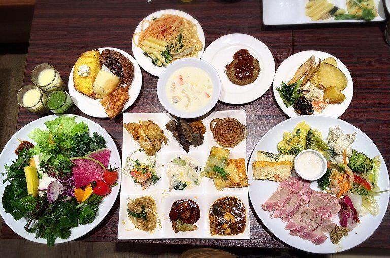 【食べ放題】彩の国レストラン 富士見市 豪華自然食ビュッフェの料金とメニュー紹介☆和洋中揃う品数は圧巻の光景