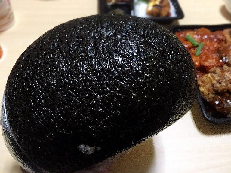 【デカ盛り】キッチンDIVE 3kgおにぎりをよりおいしく食べる方法☆最後のシメまで完璧だ♪【驚異】