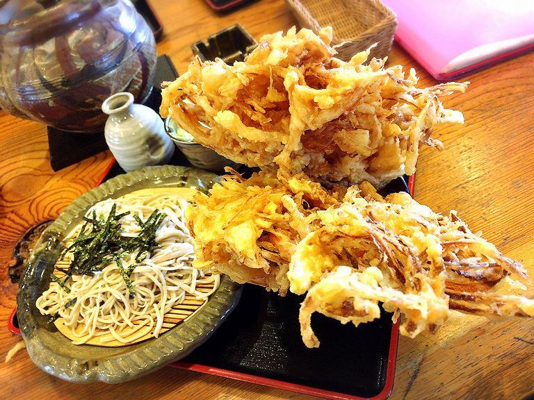 【デカ盛り】福六十 飯能市 かき揚げ丼セットの迫力が凄すぎた☆知らずに頼むとやばいメニューの正体【驚愕】