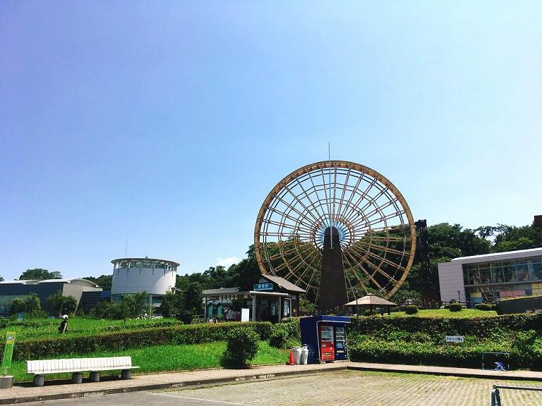 【埼玉の日本一】かわはくの大水車が稼働開始したので見に行ってきた☆多角度からの写真で紹介【新シンボル】