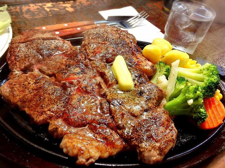 【老舗】リベラ 坂戸市 1ポンドステーキ チャレンジメニューの確認もしてきた☆都内でも有名ブランド【塊肉】