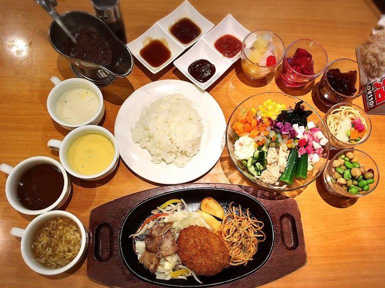 【食べ放題】ステーキ宮にサラダバー登場でパスタやデザートも楽しめるように☆スープバー付きの無敵ランチ【昇格】