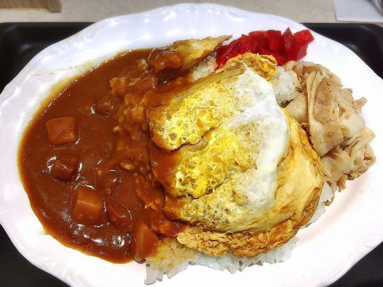 富士 そば カレーカツ 丼