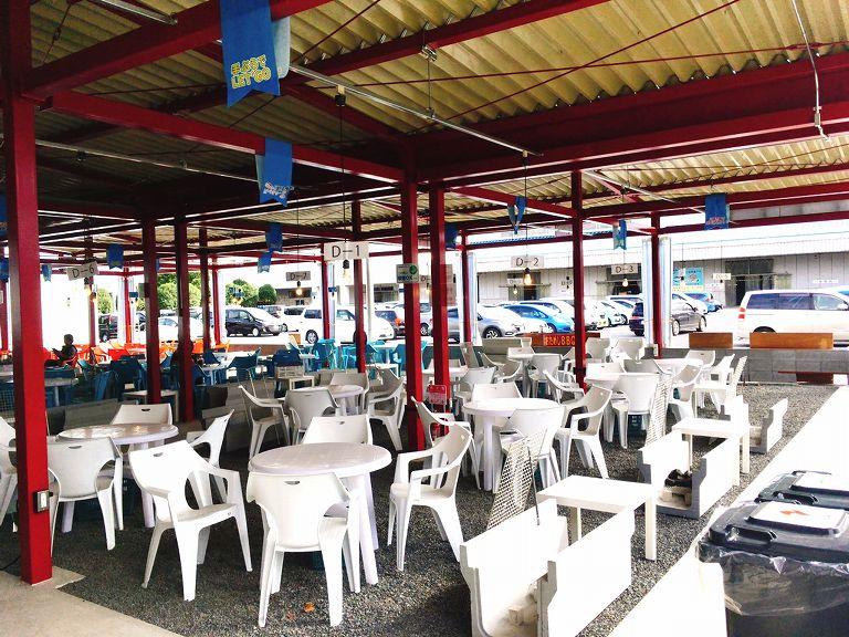 【新店】川越市場にオープンしたばべきゅーるの利用方法や食材を紹介☆海鮮や肉まで揃ってるぞ♪【雨でもOK】