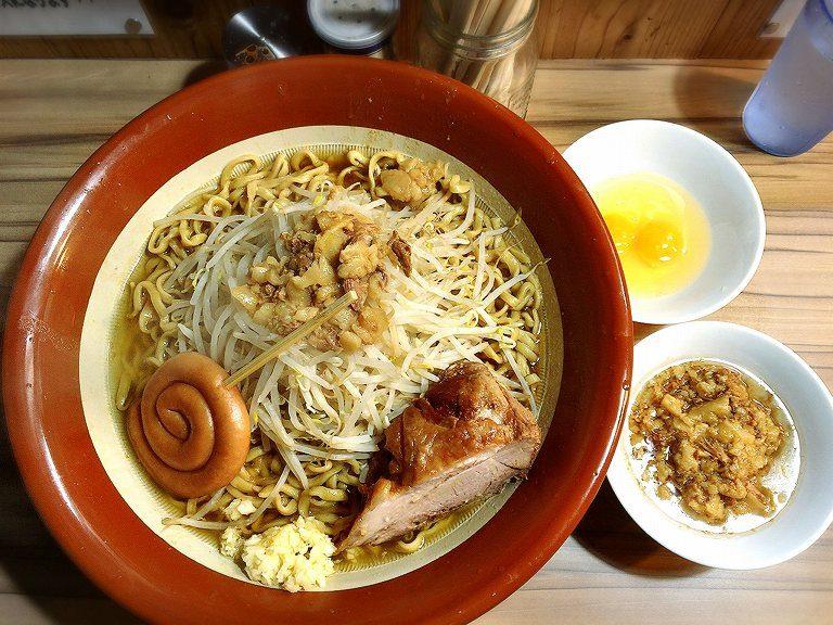 【デカ盛り】ヒノブタセカンド 越谷市 ラーメン大を麺増しすり鉢で☆ブラッシュアップされた【注目】