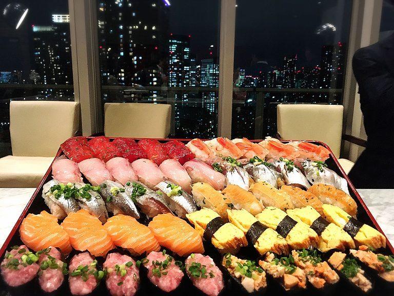 【初体験】タワマンで出張寿司職人はるみちさんが握る寿司パーティーに参加☆お酒も飲める神空間だった【満喫】