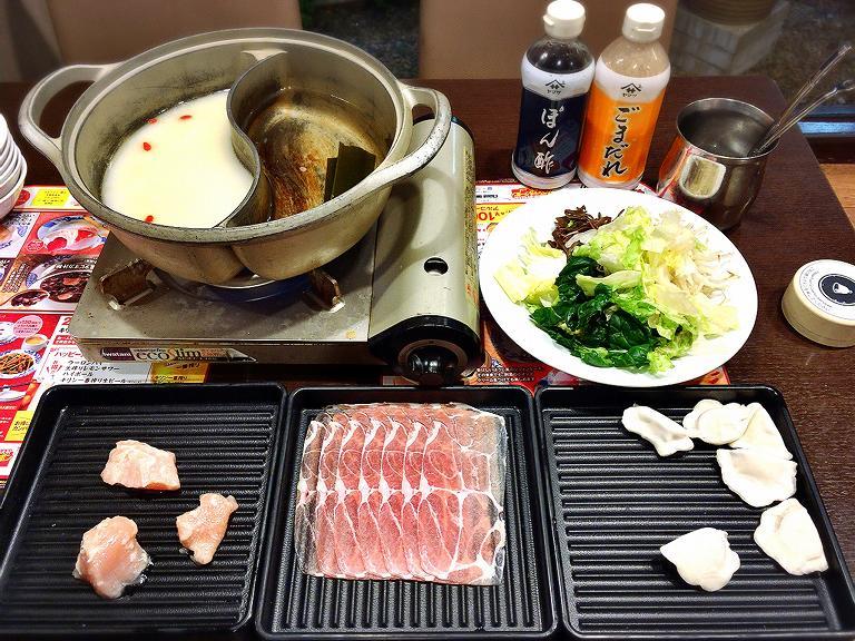 【豪華】バーミヤンの火鍋しゃぶしゃぶ食べ放題プレミアムセットを付けて実食☆一品料理もオーダー可能【最高】