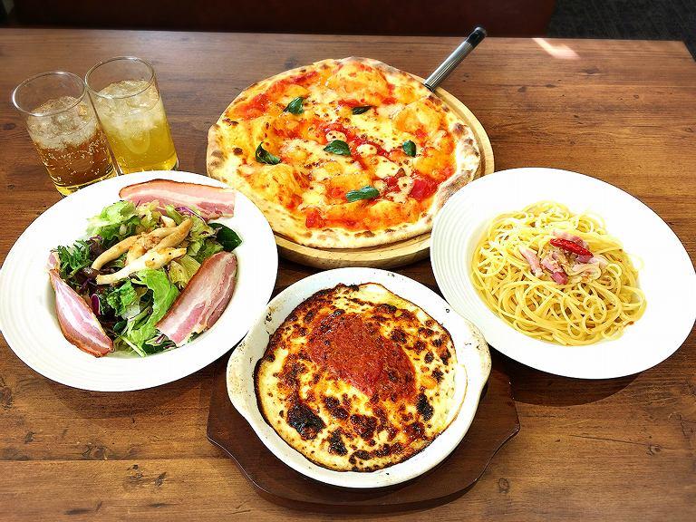 【注目】オリーブの丘 上尾市 ランチメニューは?ピザ・ドリアなど実食レポ☆選んで楽しいイタリアン【】