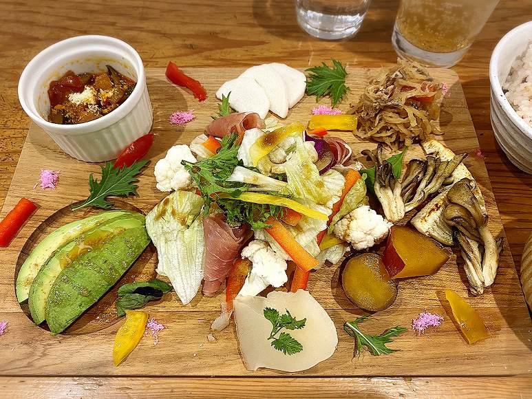 【健康】きょうのごはんゆるりcafe 川越市 ランチと絶品ジェナーコ☆見た目も美しい盛り付けに感動【カフェ 】