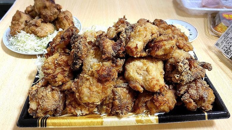 【デカ盛り】ヤオコーのから揚げ「幸唐」が大きくてウマいと聞き大食いしてみた【キロ越えパック】