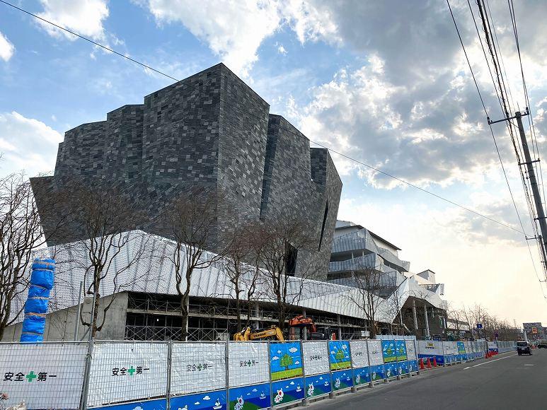 【ところざわサクラタウン】角川武蔵野ミュージアムがオープン!建設中のようす【3月撮影】
