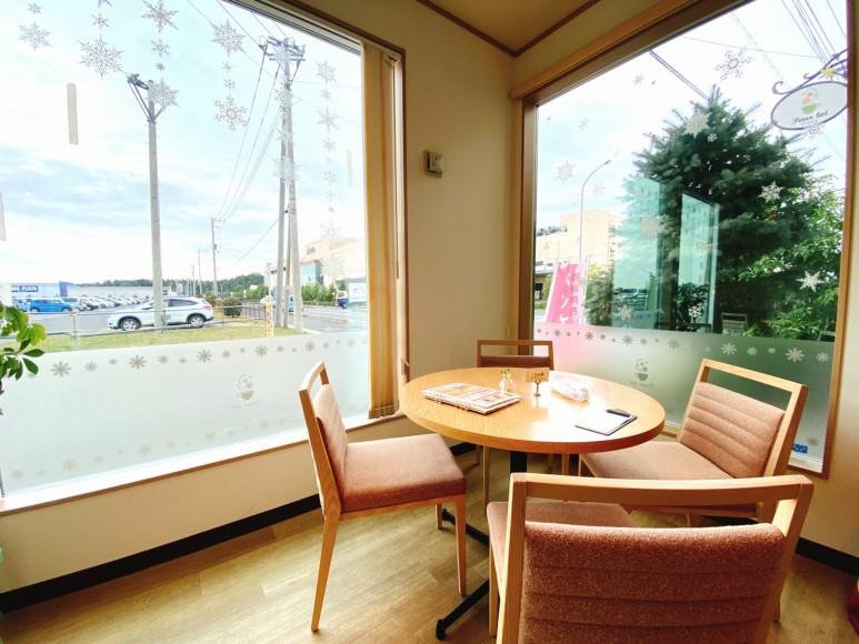 【カフェ】プール トア 東松山 限定の洋梨とはちみつのパンケーキ【人気店】