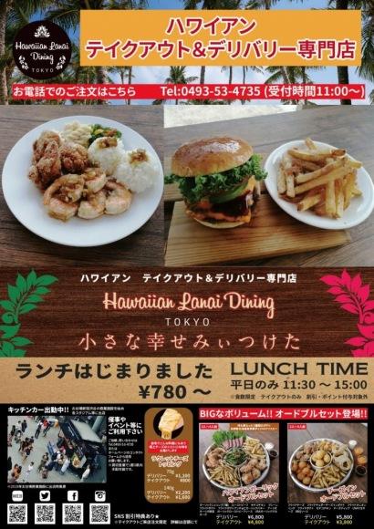 小さな幸せみぃつけた 東松山 ハワイアン料理のテイクアウト&デリバリー専門店