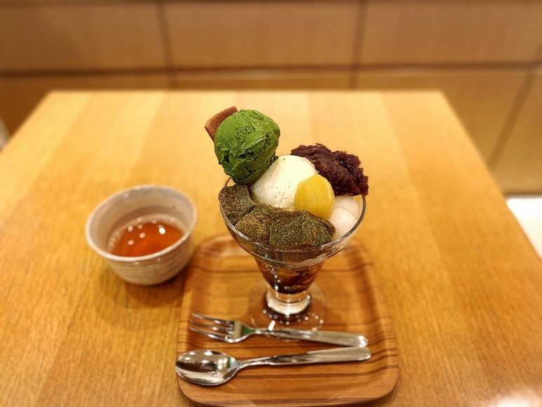 【カフェ】武蔵利休 所沢市 お濃い抹茶アフォガードやパフェやスイーツを紹介【狭山茶】