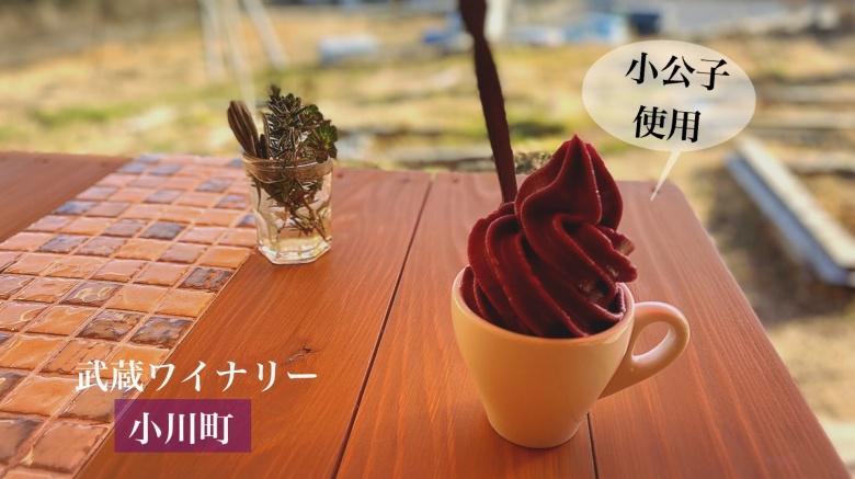 【絶品】武蔵ワイナリー 小川町 テラス席で食べるぶどうジェラートが最高!