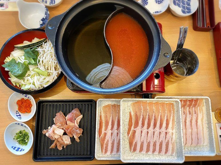 【寿司も】夢庵の新しゃぶしゃぶ食べ放題は一品料理が+100円で追加できる!【実食】