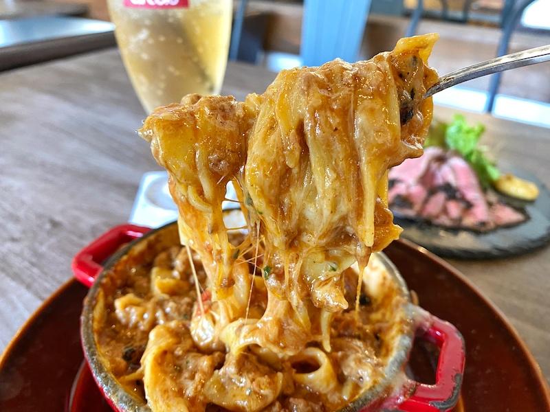 【新店】熊谷市 circolo(チルコロ)溶岩パスタや炙るチーズケーキ!?